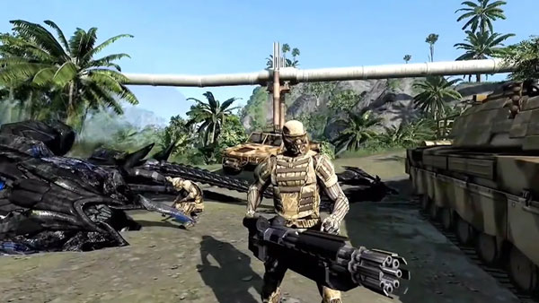 孤岛危机重制版游戏截图