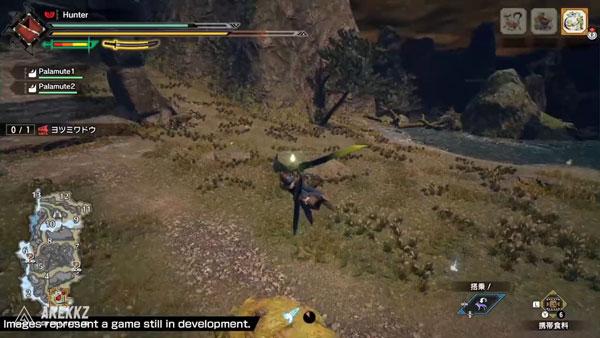 《怪物猎人:崛起》游戏截图2