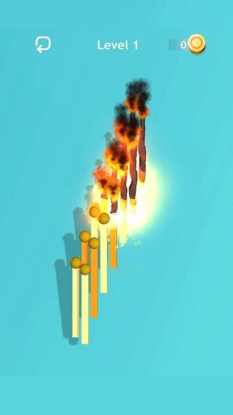 燃烧火柴无限金币版截图0