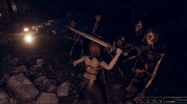 美丽与暴力:女武神截图0