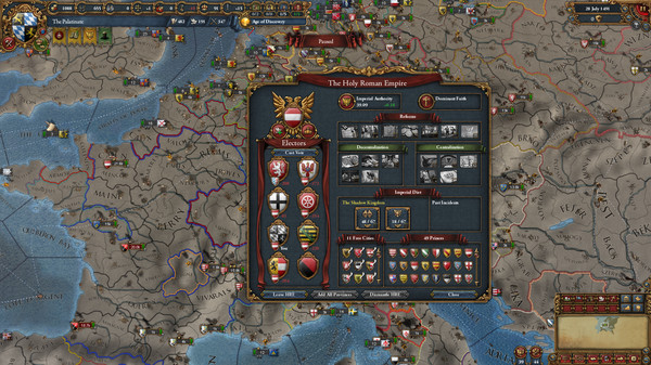 欧陆风云4:君主截图3