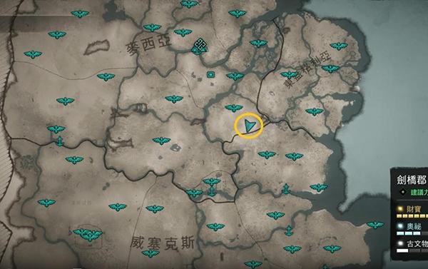 刺客信条英灵殿刷材料攻略图