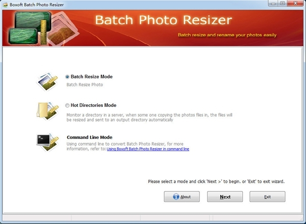 Boxoft Batch Photo Resizer图片1