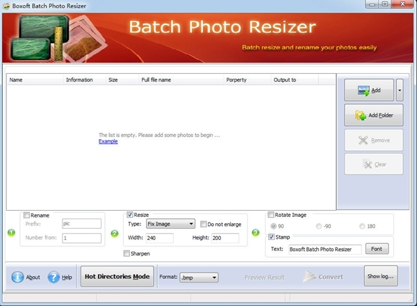 Boxoft Batch Photo Resizer图片3