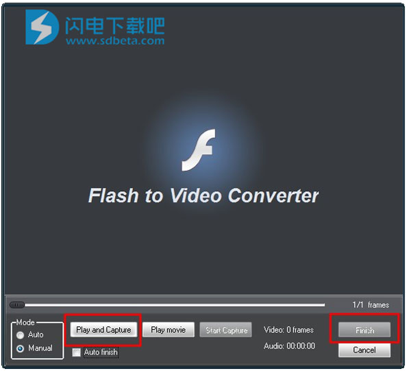 Amazing Flash to Video Converter截图