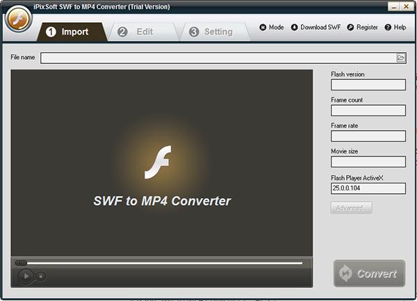 iPixSoft SWF to MP4 Converter图片