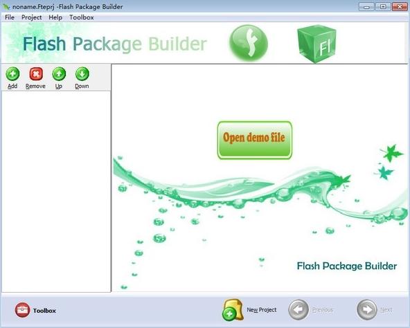 Boxoft Flash Package Builder软件图片