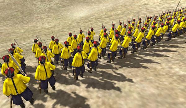 全面战争燃烧的黄龙旗游戏截图