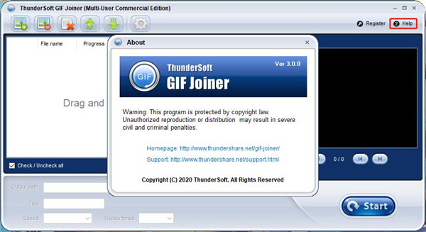 ThunderSoft GIF Joiner图片9