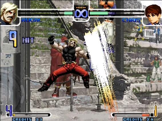 拳皇2002卢卡尔加强版截图