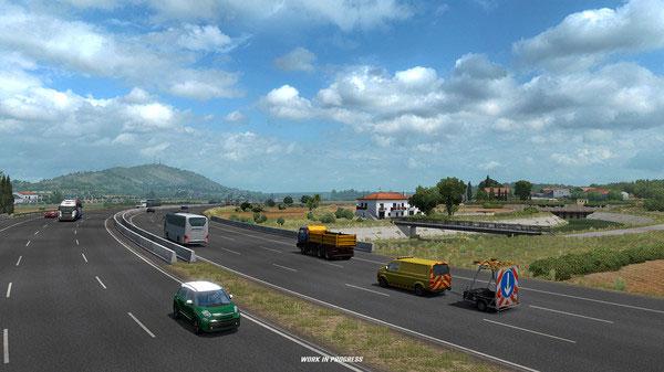 《欧洲卡车模拟2》游戏截图