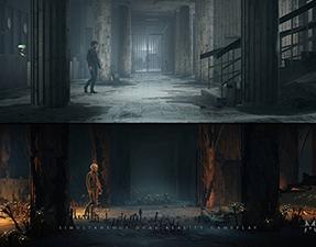 《灵媒(The Medium)》全新游戏预告发布 游戏艺术风格介绍