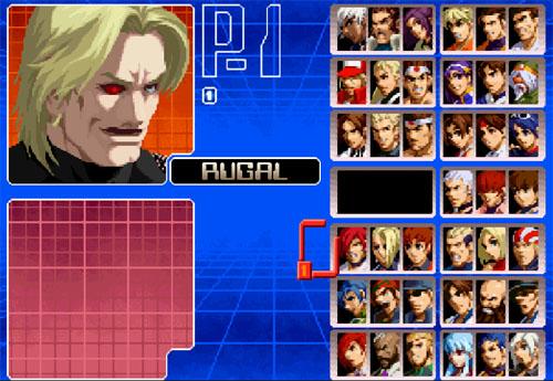 拳皇2002卢卡尔加强版截图0