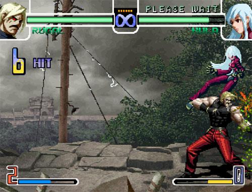 拳皇2002卢卡尔加强版截图1