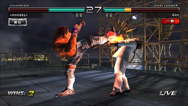 铁拳5游戏图片2