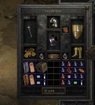 暗黑破坏神2重制版玩家大背包和能力加强MOD截图0