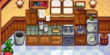 星露谷物语社区中心厨房MOD截图0
