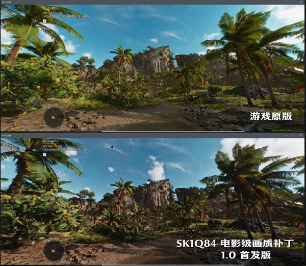 孤岛惊魂6SK1Q84画质补丁截图1