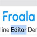 Froala WYSIWYG HTML Editor (JavaScript富文本编辑器)免费版v4.0.0