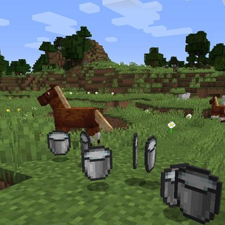 我的世界1.16.5更多动物可以挤奶MOD截图0