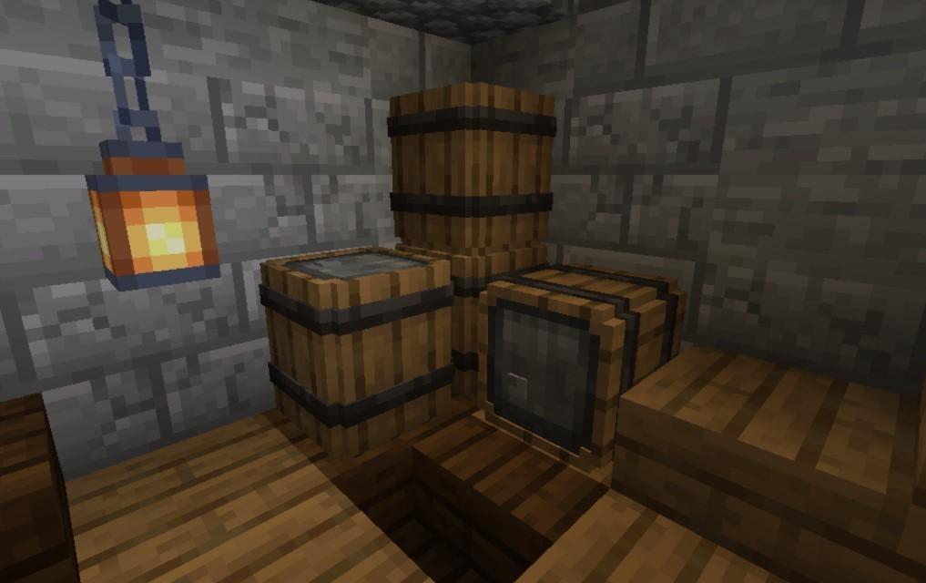 我的世界1.16.5新的储物桶MOD截图0