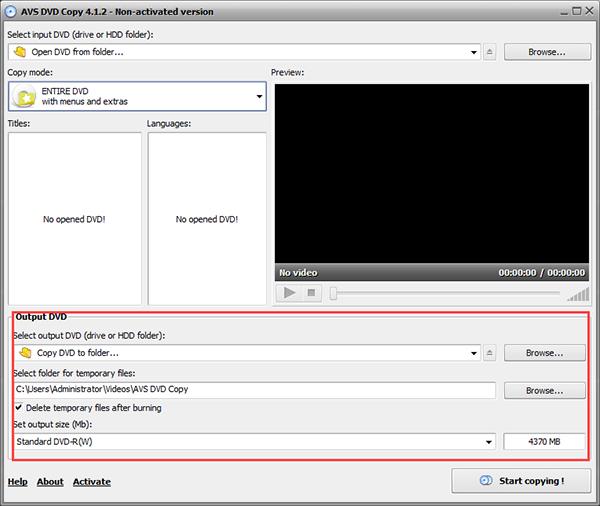 AVS DVD Copy图片
