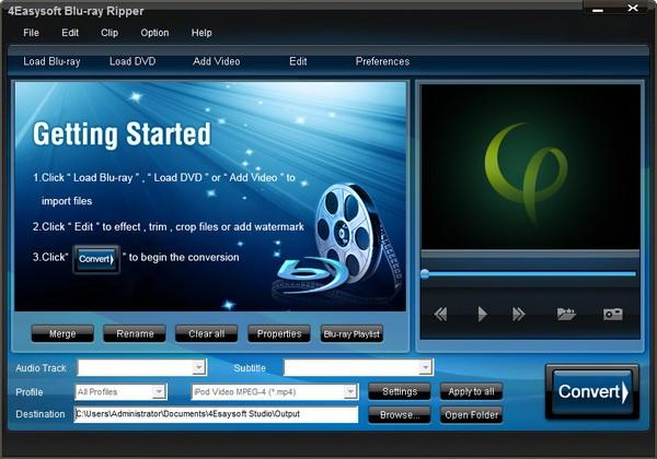 4Easysoft Blu Ray Ripper截图
