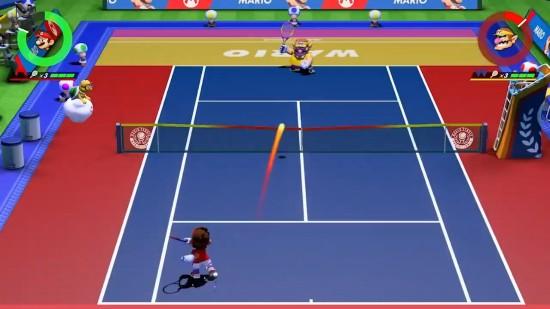 《马里奥网球Aces》图片1