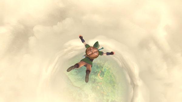《塞尔达传说:天空之剑HD》视频截图