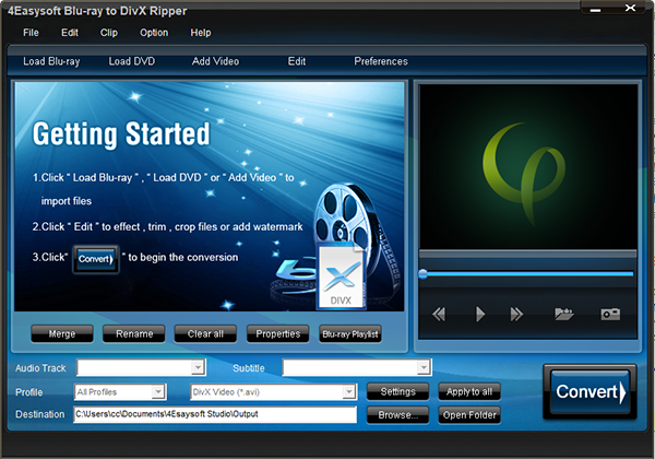 4Easysoft Blu-ray to DivX Ripper图片