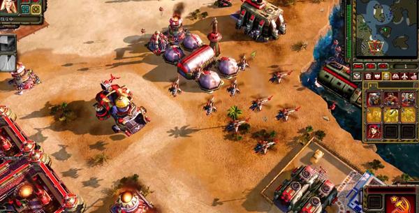 红色警戒3命令与征服游戏截图2