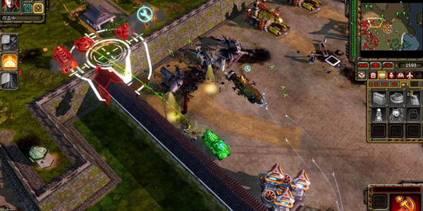 红色警戒3命令与征服游戏截图3