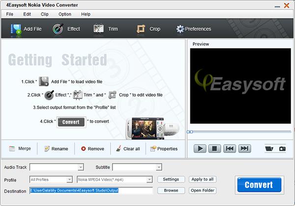 4Easysoft Nokia Video Converter图片