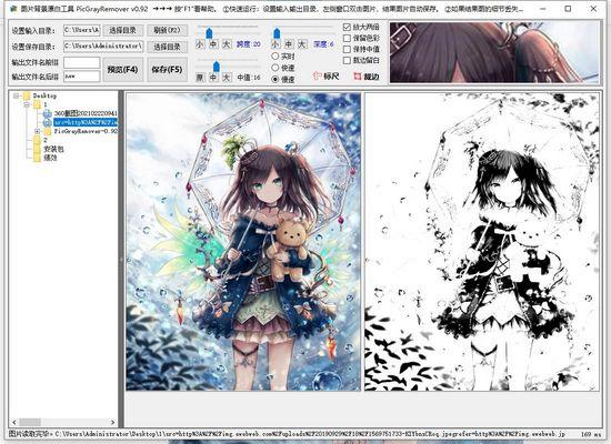 PicGrayRemover单文件版图片