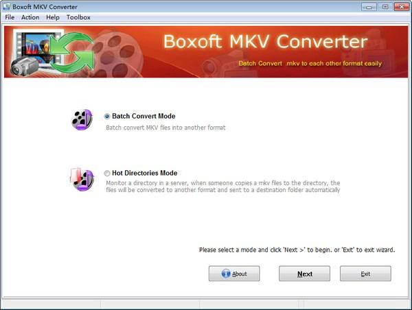 Boxoft MKV Converter软件图片1