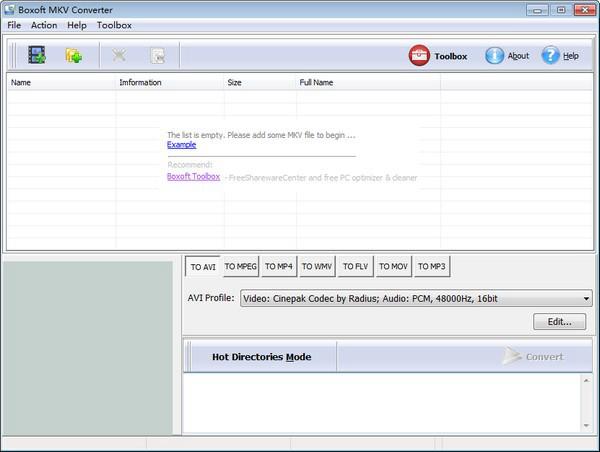 Boxoft MKV Converter软件图片2