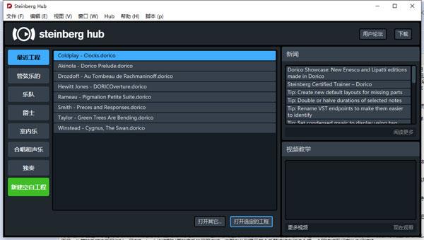 Dorico打谱软件1