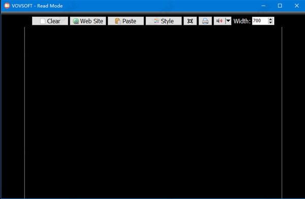 VovSoft Read Mode截图
