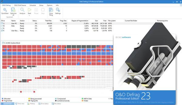 O&O DefragWorkstation截图