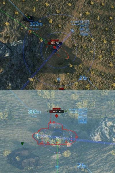 坦克世界火炮抛物线视角插件截图0