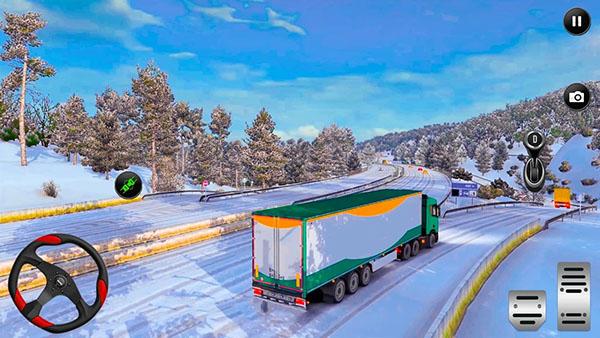 美国卡车模拟器2021无限货币版截图0