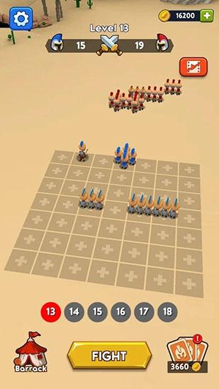 勇敢的军团伟大的战争无限金币版截图0