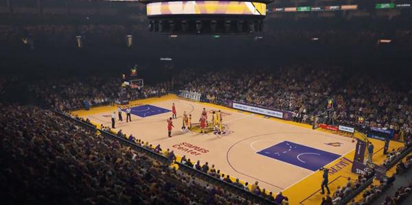 NBA2K15游戏截图
