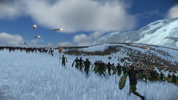 全面战争:罗马重制版截图1