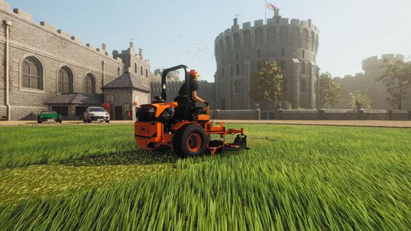 草坪割草模拟器截图1