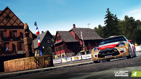 世界汽车拉力锦标赛4游戏图片3