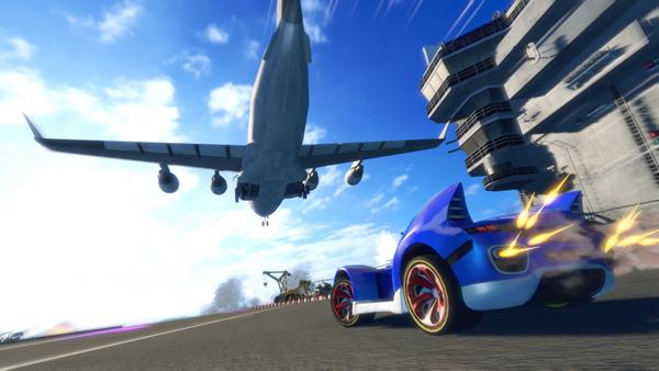 索尼克全明星赛车变形游戏图片2
