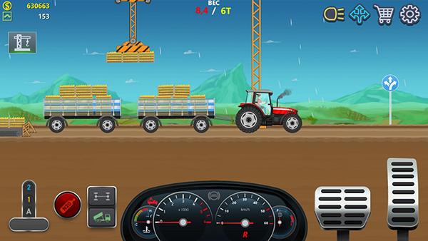卡车司机模拟器无限金币版截图0