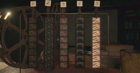 生化危机8胶片图片