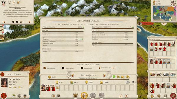 全面战争:罗马重制版截图4